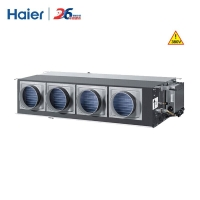 海尔(Haier)5匹低静压风管机 影院剧院厂房餐馆办公中央空调 冷暖KFRd-125EW/L6302裸机