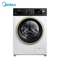 美的(Midea)滚筒洗衣机全自动 10公斤变频除螨洗烘一体 祛味空气洗 羽绒柔烘 MD100VT15D5
