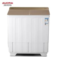 澳柯玛(AUCMA)11公斤大容量半自动双缸波轮洗衣机 双不锈钢内桶 宿舍租房家用洗涤脱水甩干机 XPB110-2118S