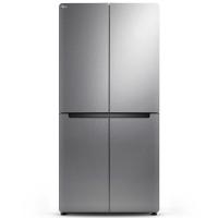 TCL 460升 变频十字对开多门冰箱 冷藏自除霜 电脑温控 一体式电脑照明 (典雅银)BCD-460KPZ50