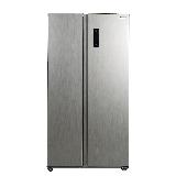 松下(Panasonic)570升大容量冰箱双开门 对开门冰箱 银离子抗菌装置一键速冻 NR-EW57S1-S