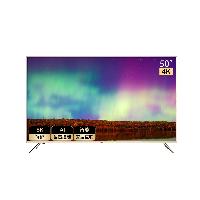 海尔(Haier)LU50J51 50英寸4K超高清 8K解码 人工智能语音2+16G超窄边框 平板液晶教育电视机(金色)