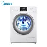 美的(Midea)8公斤变频滚筒洗衣机全自动  巴氏除菌洗 智能WiFi 智能时间可调 智能家电 MG80V330WDX