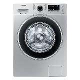 三星(SAMSUNG)9公斤滚筒洗衣机全自动 婴儿洗 智能变频WW90J3230GS/SC(XQG90-90J3230GS)(银)