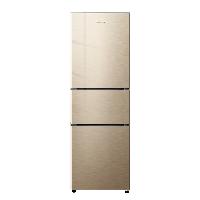创维 (SKYWORTH) 210升 冰箱三门 风冷无霜 宽幅变温 精细分储 独立三温系统 静音保鲜 不占地 W21A