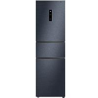 TCL 260升 一级双变频风冷无霜电冰箱 三门三温区 AAT养鲜 节能静音(烟墨蓝)BCD-260TWEPZA50