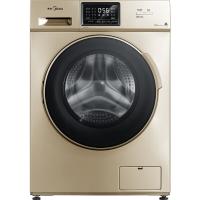 美的(Midea)滚筒洗衣机全自动 巴氏除菌洗 智能时间可调 中途添衣 8公斤变频 MG80VN13DG5