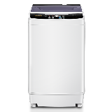 康佳(KONKA)洗衣机全自动7公斤波轮洗衣机小型 家电宿舍租房 脱水  快洗自洁 XQB70-20D0B