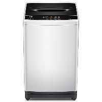 TCL 8公斤变频全自动波轮洗衣机 一级能效 安静耐用 10程序洗涤(宝石黑)XQB80-36BSP