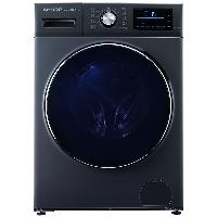 夏普(SHARP) 10公斤 全自动变频滚筒式洗衣机 空气洗 洗烘一体机 XQG100-6369W-H
