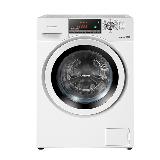 松下(Panasonic)爱妻号XQG100-E1VUM 10公斤全自动变频滚筒洗衣机 高温除菌 白色