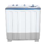 康佳(KONKA)13公斤 半自动双缸波轮洗衣机 双桶大容量 洗脱分离 脱水甩干 立体水流(透明蓝)XPB130-259S
