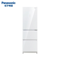 松下(Panasonic)NR-EC35AG0-W 360升三门变频超薄风冷冰箱 自动制冰节能导航