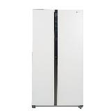 松下(Panasonic)570升大容量冰箱双开门对开门 银离子抗菌装置  白色玻璃面板NR-EW58G1-XW