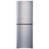 松下(Panasonic)240升风冷无霜家用 双门小冰箱 典雅银时尚造型高效节能 银离子抗菌NR-EB23WS1-S