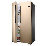 三星(SAMSUNG)638升对开门冰箱 大容量对开门变频无霜电冰箱 双循环不串味RS62MAJ00FE/SC(金)