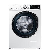 三星(SAMSUNG)10公斤滚筒洗衣机全自动 蒸汽除菌 泡泡净洗 WW1WN64FTBW/SC(XQG10-1WN64FTBW)白