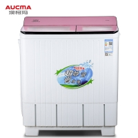 澳柯玛(AUCMA)10公斤大容量半自动双缸波轮洗衣机 强力洗涤 宿舍租房家用 洗涤脱水甩干机 XPB100-3158S