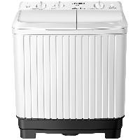 荣事达(Royalstar) 洗衣机 8.5公斤家用半自动双桶双筒双缸洗衣机 强劲动力 洗脱分离 白色 XPB85-958PHR