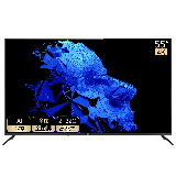 海尔(Haier)55R3(PRO) 55英寸超薄金属全面屏 4K超高清 8K解码 AI声控智慧屏 平板液晶教育电视2+32G