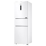 三星(SAMSUNG)280升风冷无霜智能变频三门电冰箱 全环绕气流 全开式抽屉RB27KCFJ0WW/SC(白)