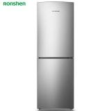 容声(Ronshen) 219升 小型两门冰箱 风冷无霜 静音节能 大冷冻 节能环保 双门冰箱 银BCD-219WD12D