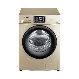 美的(Midea) 10公斤全自动滚筒洗衣机 家用变频静音大容量 婴儿服洗 MG100V31DG5