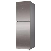 海尔(Haier)256升风冷变频三门冰箱 BCD-256WDGR 企业购