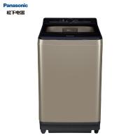 松下(Panasonic)洗衣机全自动波轮8公斤 3位1体捷控系统 人工智能 一键智洗 不弯腰 桶洗净XQB80-U88Q2M金色