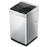 创维(SKYWORTH)9公斤波轮洗衣机全自动 智能模糊洗 空气阻尼减震静音 不锈钢箱体  安心童锁 (淡雅银)T90Q