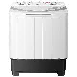 荣事达(Royalsta) 洗衣机 10公斤家用半自动双桶双筒双缸洗衣机 强劲动力 洗脱分离 白色 XPB100-976PHR