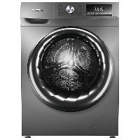容声 滚筒洗衣机全自动 10公斤KG超薄变频安静 洗烘一体 银离子除菌 蒸汽除螨 空气洗 RH10148BJZ