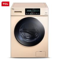 TCL 8.5公斤 免污双变频洗烘一体烘干滚筒洗衣机 羽绒服洗 全面触控屏(流沙金)XQGM85-U8