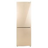 松下(Panasonic)322升家用双开门冰箱二门 风冷无霜 银离子kang菌 速冷速冻玻璃面板NR-EB32G1-N