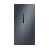 美的 (Midea)603升 对开门冰箱 大容量 风冷无霜一级能效 智能双变频 WIFI智能 炫晶灰BCD-603WKPZM(E)