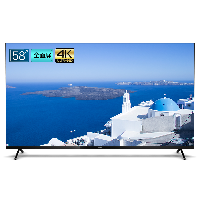 飞利浦(PHILIPS)58英寸 2+32G 智慧屏 全面屏 4K超高清 HDR 蓝牙AI语音 网络智能教育液晶电视58PUF7395