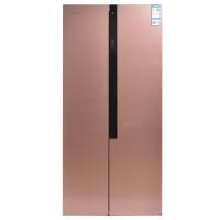 康佳(KONKA)406升对开门冰箱 风冷无霜 隐藏式把手 BCD-406WD5EBX 玫瑰金