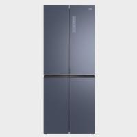 TCL 406升 十字对开门 家用电冰箱 双变频 风冷无霜(星云蓝)406P6-U 星云蓝