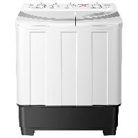 荣事达(Royalsta)  洗衣机  9公斤家用半自动双桶双筒双缸洗衣机 强劲动力 洗脱分离 白色  XPB90-966PHR