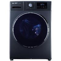 夏普(SHARP) 滚筒洗衣机全自动 9公斤变频 15种洗涤程序高温筒自洁 节能静音 XQG90-6239W-H