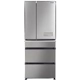 松下(Panasonic)498升深丝银多门冰箱  全开抽屉 抗菌除异味 变频无霜风冷电冰箱 新鲜冻结NR-E531TG-S