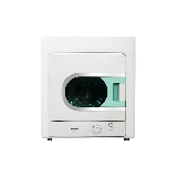 松下(Panasonic)3.5公斤独立式烘干机60度恒温烘干无需晾晒开门即停 超薄 NH35-31T
