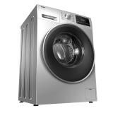 海尔(Haier)滚筒洗衣机全自动 食用级巴氏杀菌 AMT抗菌 ABT双喷淋10公斤变频 XQG100-12B30SU1JD