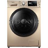 美的(Midea)滚筒洗衣机全自动 10公斤变频除螨 双蒸汽恒温洗 高温筒自洁 深层除螨 MG100A5