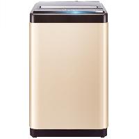 容声 波轮洗衣机全自动 8公斤大容量 家用 10大程序 健康桶自洁 快洗 低噪不扰 香槟金 RB80D1321G