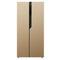 康佳(KONKA)400升对开门冰箱 电脑温控 超薄机身 静音节能 双开门大冰箱 (金色)BCD-400EGX5S