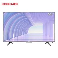 康佳(KONKA)55X5 55英寸 4K超高清 全面屏 远场语音 AI人工智能 2+16GB内存 网络平板液晶教育电视机