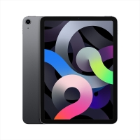 Apple iPad Air 10.9英寸 平板电脑( 2020年新款 64G WLAN版/A14芯片/触控ID/全面屏MYFM2CH/A)深空灰色