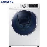 三星(SAMSUNG)9公斤全自动滚筒洗衣机 洗烘一体 婴儿洗 WD90N64FOOW/SC(XQG90-90N64FOOW)(白)