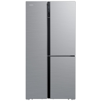 康佳(KONKA)500升三开门冰箱 风冷无霜4.0 BCD-500WD6EBTP 浅灰色